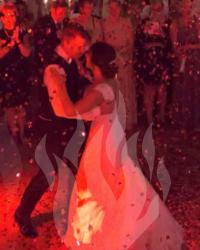 Hochzeit, Hochzeitstanz, Fulda, DJ, Confetti-Kanone, Konfetti-Kanone, Hochzeit feiern