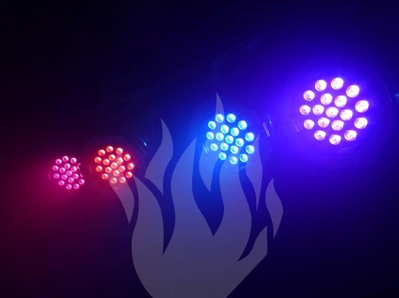 Veranstaltungstechnik, Fulda, LED, Spots, Uplighting, Floor-Spot, Floorspot, Feier-Schmiede